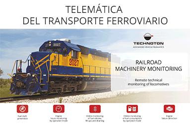 TELEMÁTICA DEL TRANSPORTE FERROVIARIO