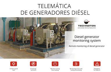TELEMÁTICA DE GENERADORES DIÉSEL