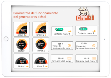 MONITOREO DE GENERADORES DIÉSEL