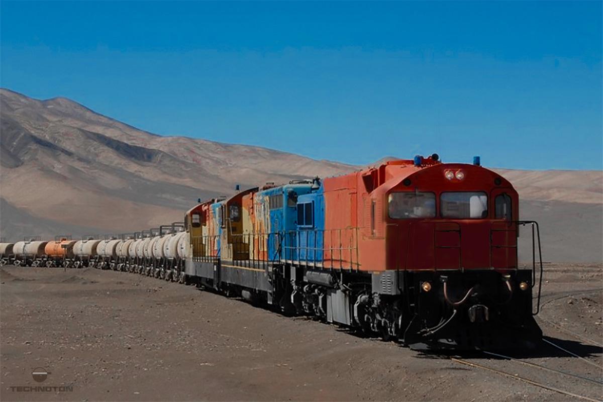Locomotive. General view