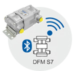 Wireless fuel flow meter DFM S7