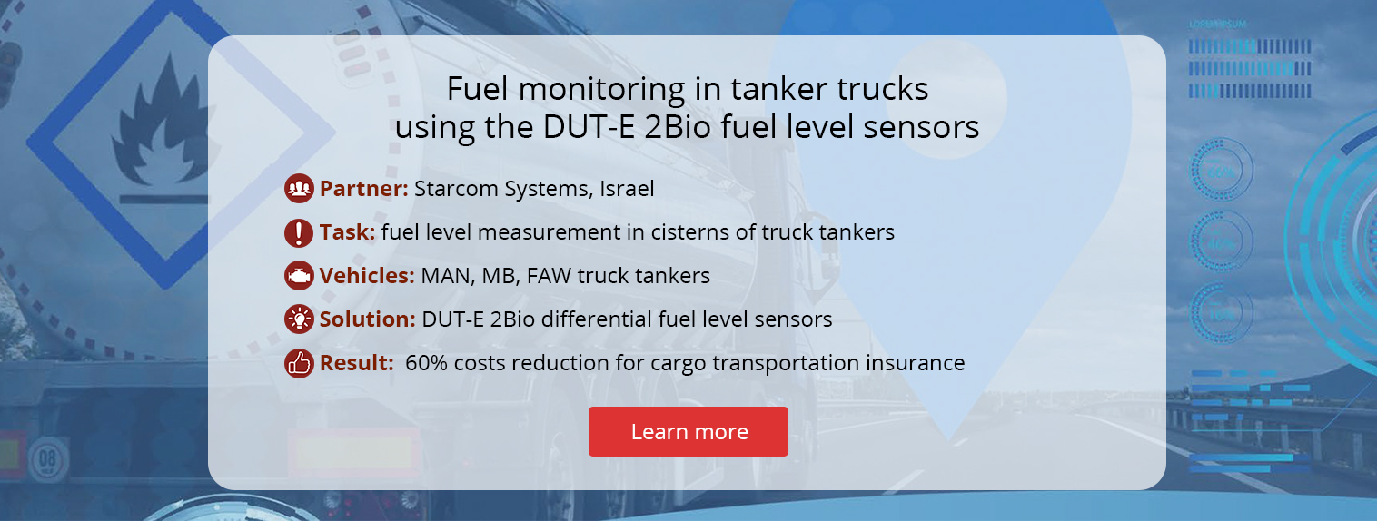 Fuel control in truck tankers