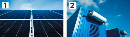 Fuel consumption monitoring in solar power plants, photovoltaic systems