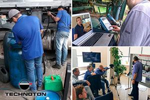 Online briefing on telematics system installation